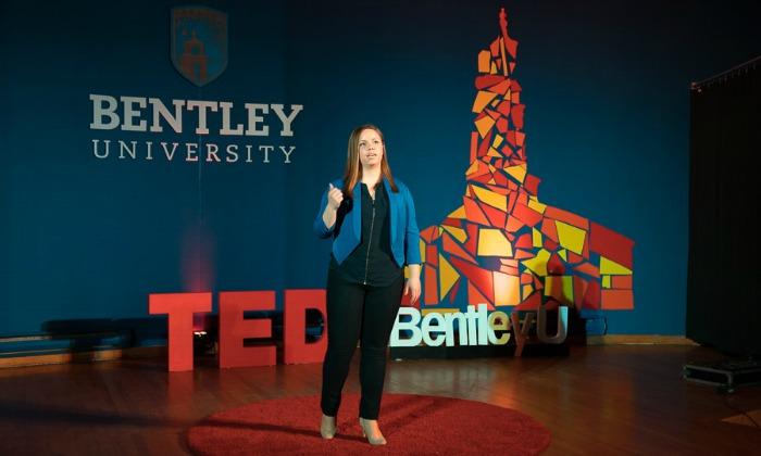 Waltham, MA 04/2/2016 Bentley University TedX Ignite event Alex Jones / www.alexjonesphoto.com