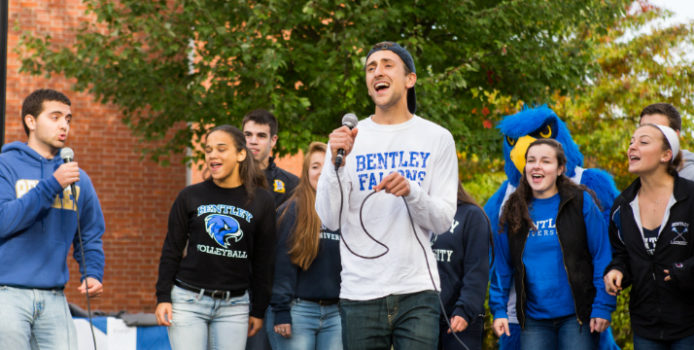 Off the Clock: A Cappella Group Finds Harmony In and Out of the Classroom