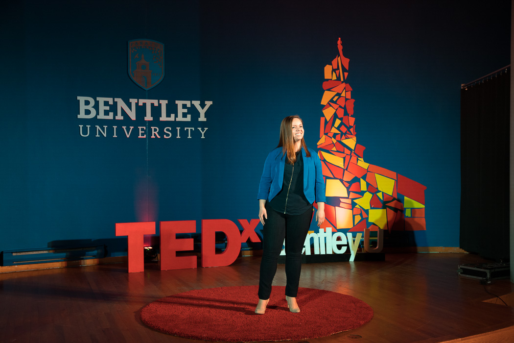 Waltham, MA 04/2/2016 Bentley University TedX Ignite event Alex Jones / www.alexjonesphoto.com