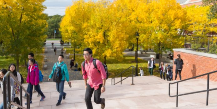 Bentley Named One of the Best Colleges for International Students