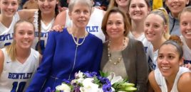 History at Bentley: Basketball Coach Barbara Stevens Wins Her 1,000th Game