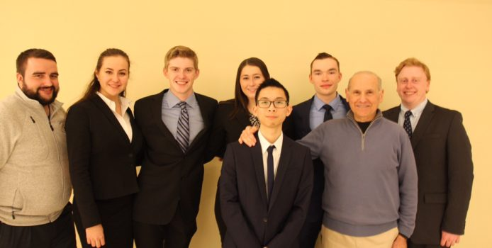 Bentley Moot Court Team ranked among top 20 in North America.